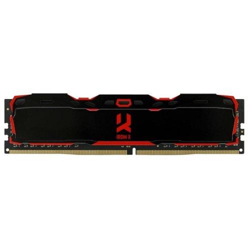 Фото ОЗУ GoodRAM DDR4 16GB (2x8GB) 3000Mhz Iridium X Black (IR-X3000D464L16S/16GDC)
