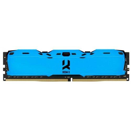 Фото ОЗУ GoodRAM DDR4 8GB 3000Mhz Iridium X Blue (IR-XB3000D464L16S/8G)