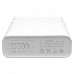 Фото Универсальный аккумулятор Xiaomi Mi Power Bank 2C 20000 mAh (PLM06ZM) White