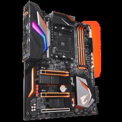 Фото Материнская плата Gigabyte X470 AORUS GAMING 7 WiFi (sAM4, AMD X470)