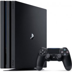 Фото Sony PlayStation 4 Pro (PS4 Pro) 1Tb (FIFA 18/ PS+14Day) Black