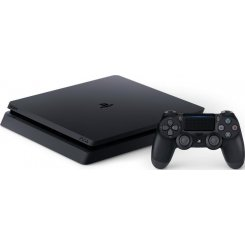 Фото Sony PlayStation 4 Slim (PS4 Slim) 500GB Rus Bundle + Horizon Zero Dawn + Ratchet & Clank + Driveclub + PSPlus 3 месяца Black