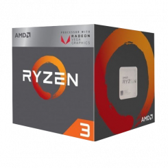 AMD Ryzen 3 2200G 3.5(3.7)GHz sAM4 Box (YD2200C5FBBOX)