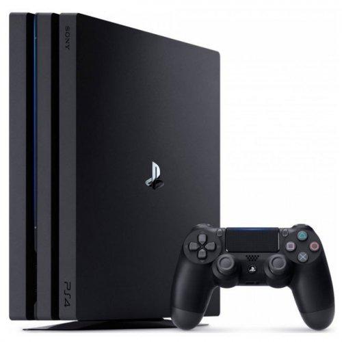Фото Sony PlayStation 4 Pro (PS4 Pro) 1TB + FIFA18 Black