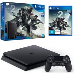 Фото Sony PlayStation 4 Slim (PS4 Slim) 1TB + Destiny 2 Black