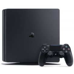 Фото Sony PlayStation 4 Slim (PS4 Slim) 1TB + 2 DS4 + FIFA18 Black