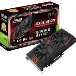 Фото Видеокарта Asus Geforce GTX 1070 Expedition 8192MB (EX-GTX1070-8G)