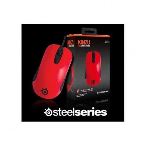 Фото Игровая мышь SteelSeries Kinzu V3 MSI Edition (62313) Red