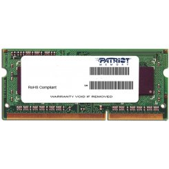 Фото ОЗУ Patriot SODIMM DDR3 2GB 1600MHz (PSD32G1600L2S)