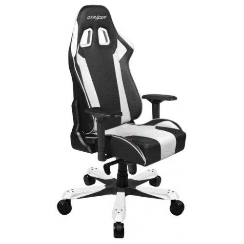 Фото Игровое кресло DXRacer King (OH/KS06/N) Black/White