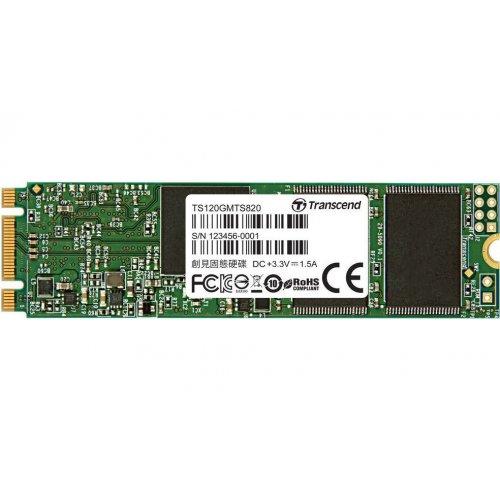 Фото SSD-диск Transcend MTS820S TLC 120GB M.2 (2280 SATA) (TS120GMTS820S)