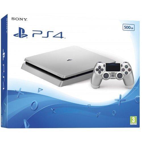 Фото Sony PlayStation 4 Slim (PS4 Slim) 500GB Silver
