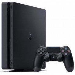 Фото Sony PlayStation 4 Slim (PS4 Slim) 500GB + UFC 2 Black