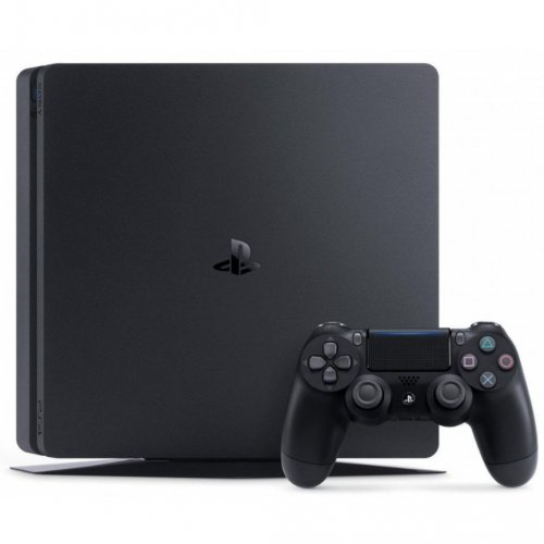 Фото Sony PlayStation 4 Slim (PS4 Slim) 500GB + UFC 2 Black