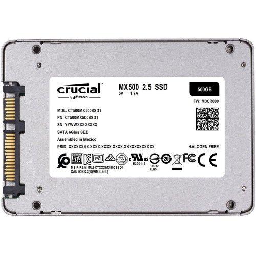 Фото SSD-диск Crucial MX500 TLC 500GB 2.5