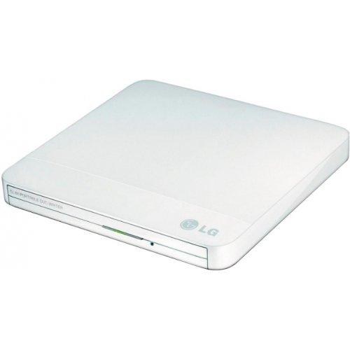 Фото Оптический привод H-L Data Slim DVD±R/RW USB 2.0 (GP50NW41.AUAE12W) White