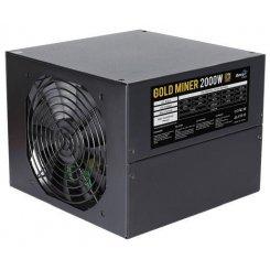 Фото Уценка блок питания Aerocool Gold Miner 2000W (ACPG-GM2KFEY.11) (После обзора YouTube, 77382)