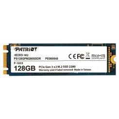 Фото SSD-диск Patriot Scorch 128GB M.2 (2280 PCI-E) NVMe x2 (PS128GPM280SSDR)