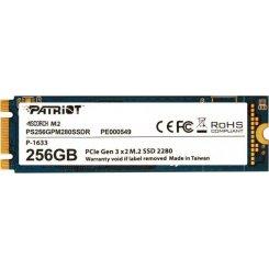 Фото SSD-диск Patriot Scorch 258GB M.2 (2280 PCI-E) NVMe x2 (PS256GPM280SSDR)