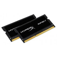 Фото ОЗУ Kingston SODIMM DDR3 8GB (2x4GB) 1866Mhz HyperX Impact (HX318LS11IBK2/8)