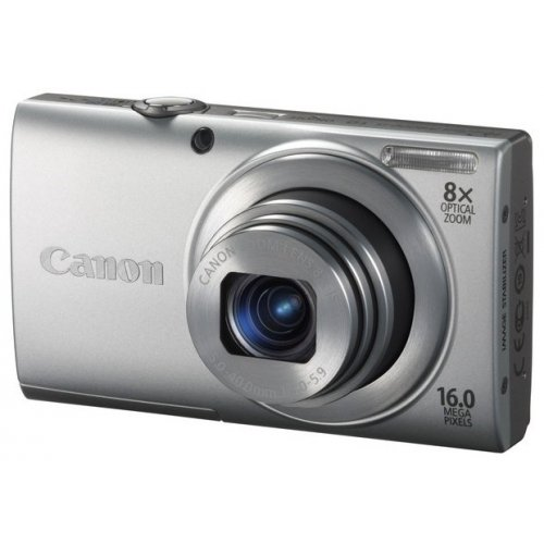 Фото Цифровые фотоаппараты Canon PowerShot A3400 IS Silver