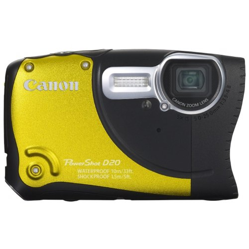 Фото Цифровые фотоаппараты Canon PowerShot D20 Yellow