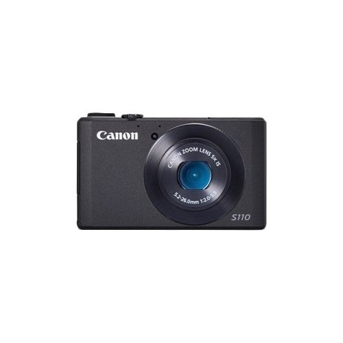 Фото Цифровые фотоаппараты Canon PowerShot S110 Black