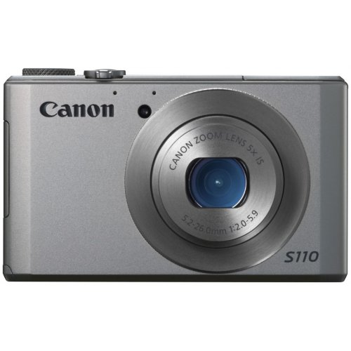 Фото Цифровые фотоаппараты Canon PowerShot S110 Silver