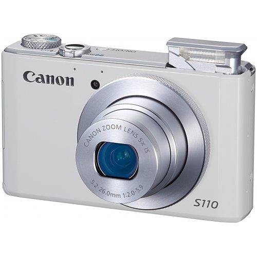 Фото Цифровые фотоаппараты Canon PowerShot S110 White