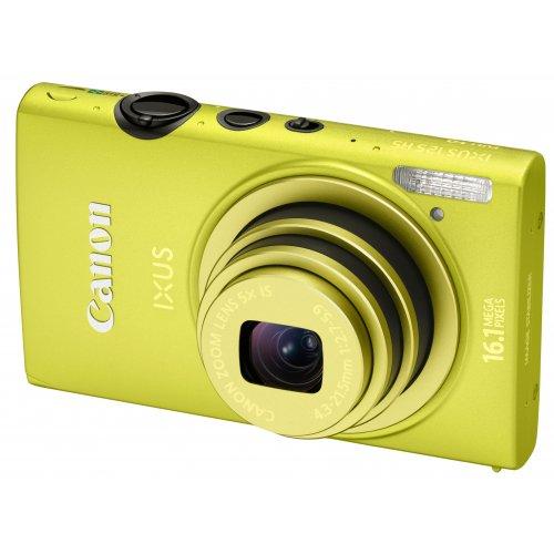 Фото Цифровые фотоаппараты Canon IXUS 125 HS Yellow