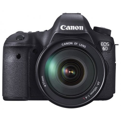 Фото Цифровые фотоаппараты Canon EOS 6D 24-105 IS Kit