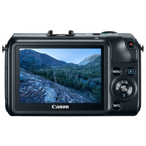 Фото Цифровые фотоаппараты Canon EOS M 18-55 IS STM Kit Black