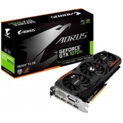 Фото Видеокарта Gigabyte GeForce GTX 1070 TI AORUS 8192MB (GV-N107TAORUS-8GD)