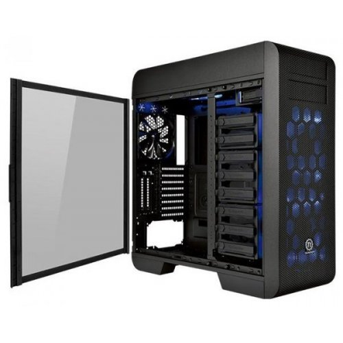 Фото Корпус Thermaltake Core V71 Tempered Glass Edition Window без БП (CA-1B6-00F1WN-04) Black