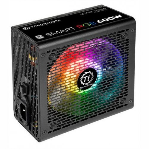 Фото Thermaltake Smart RGB 600W (PS-SPR-0600NHSAWE-1)