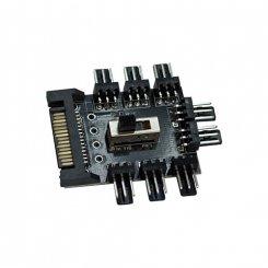 Фото Адаптер T-Adapter 8x3pin Fun HUB Splitter