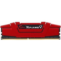 Фото ОЗУ G.Skill DDR4 8GB (2x4GB) 2400Mhz Ripjaws V Red (F4-2400C17D-8GVR)