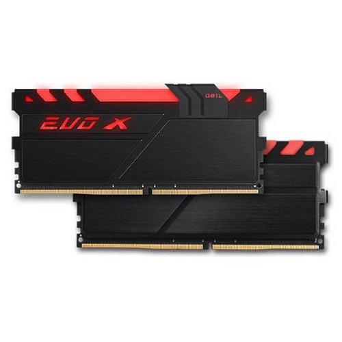 Фото ОЗУ Geil DDR4 32GB (2x16GB) 2400Mhz EVO X RGB (GEXB432GB2400C16DC) Black