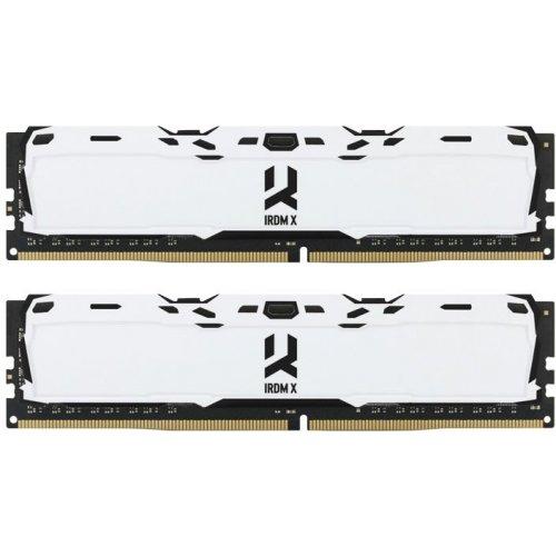 Фото ОЗУ GoodRAM DDR4 16GB (2x8GB) 3000Mhz Iridium X White (IR-XW3000D464L16S/16GDC)