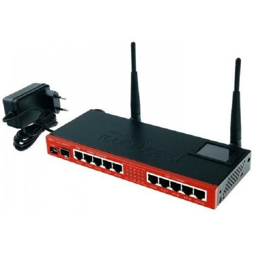 Фото Wi-Fi роутер Mikrotik RouterBOARD RB2011 (RB2011UiAS-2HND-IN)