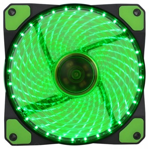 Фото Кулер для корпуса GAMEMAX GaleForce LED Green (GMX-GF12G)