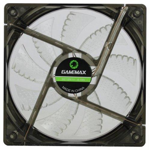 Фото Кулер для корпуса GAMEMAX WindForce LED White (GMX-WF12W)
