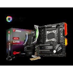 Фото Материнская плата MSI X299M GAMING PRO CARBON AC (s2066, Intel X299)