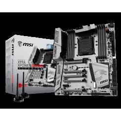 Фото Материнская плата MSI X99A XPOWER GAMING TITANIUM (s2011-3, Intel X99)