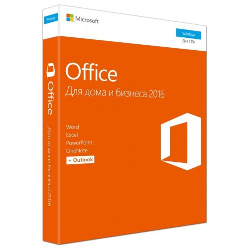 Фото Офісний додаток Microsoft Office Home & Business 2016 Russian Box (T5D-02703)