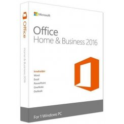 Фото Microsoft Office Home & Business 2016 English Box (T5D-02710)