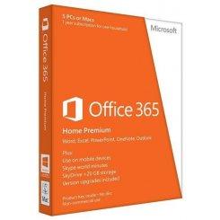 Фото Microsoft Office365 Home Russian 5 ПК 1 год Medialess (6GQ-00763)