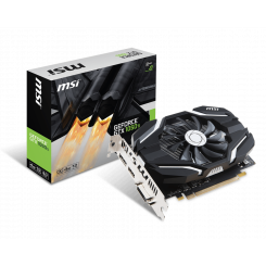 Фото Видеокарта MSI GeForce GTX 1050 Ti OC 4096MB (GTX 1050 Ti 4G OCV1)