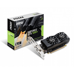 Фото Видеокарта MSI GeForce GTX 1050 Ti 4096MB (GTX 1050 Ti 4GT LPV1)