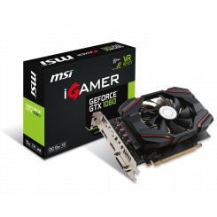 Фото Видеокарта MSI GeForce GTX 1060 iGAMER OC 6144MB (GTX 1060 iGAMER 6G OC )
